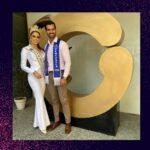 Leonardo Carrero y Gabriela de la Cruz en el programa la Tizana